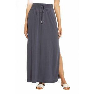 Athleta Pura Vida Grey Maxi Skirts Size S